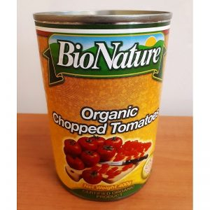 Organic chopped tomato